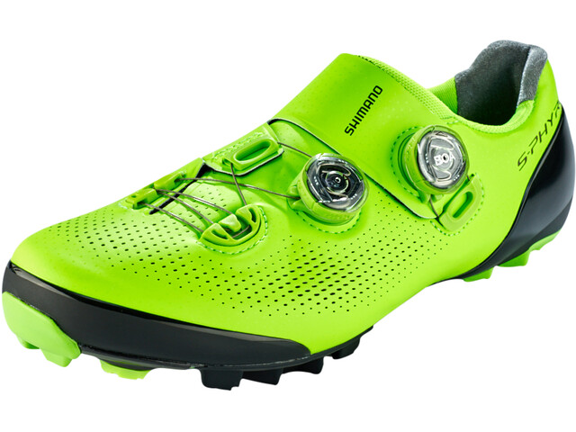 Shimano SH-XC9 S-Phyre Chaussures de cyclisme Large Homme, green